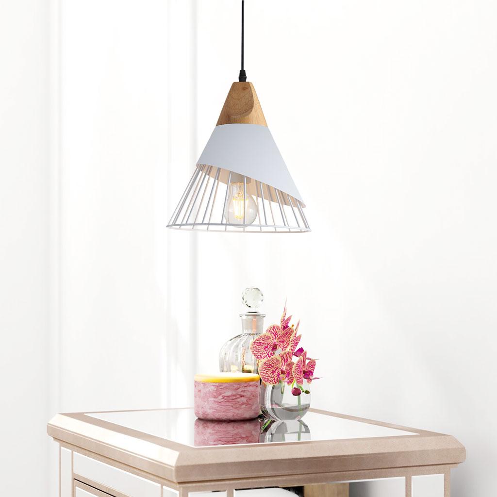 Đèn thả THCN38 (trắng) - Đèn trang trí TPHCM
