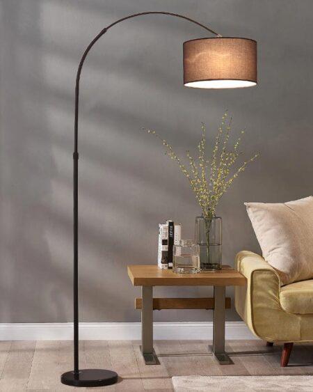Đèn sàn, Đèn góc sofa, Đèn cây đứng đọc sách góc sofa & phòng ngủ (LT527B)