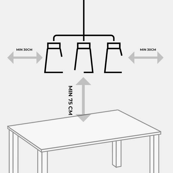 Cách treo đèn thả