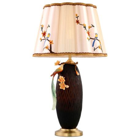 Đèn để bàn đồng gốm sứ cao cấp VS6892L
