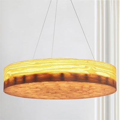 Đèn thả gỗ trang trí bàn ăn cao cấp 18484