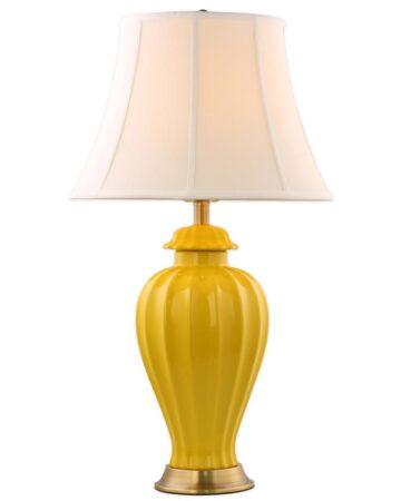 Đèn để bàn đồng gốm sứ cao cấp VS17655