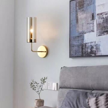 Đèn gắn tường thủy tinh hiện đại