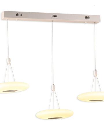 Đèn thả bàn ăn VR0983: bộ 3 bóng, thả LED 8W x3