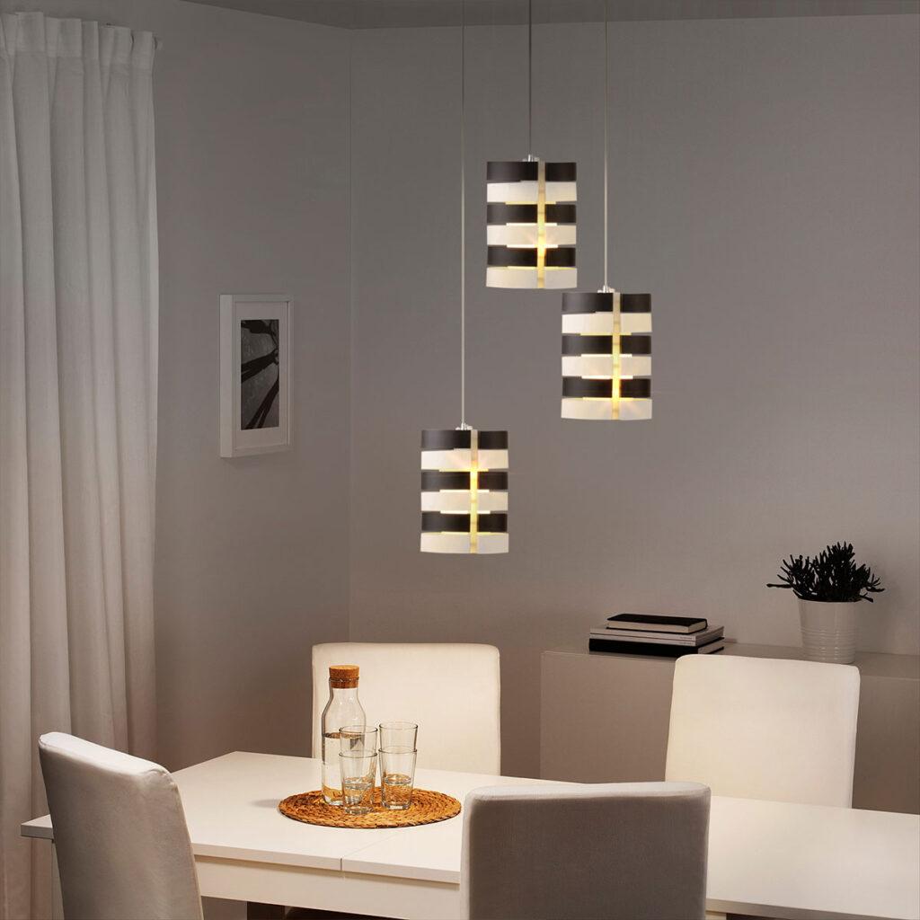 đèn thả trần trang trí bàn ăn