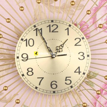 Đồng hồ trang trí gắn tường hiện đại VIRGO VO-2017