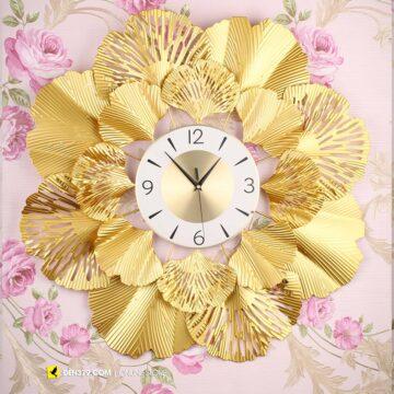 VIRGO VO-51 | Đồng hồ trang trí gắn tường Lá cách điệu