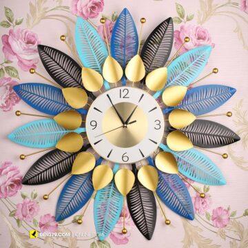 VIRGO VO-19 | Đồng hồ trang trí gắn tường Lá cách điệu