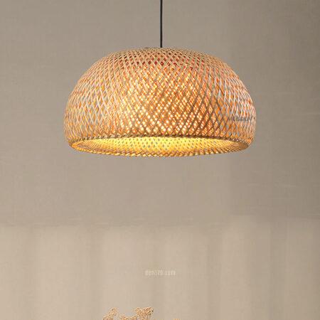 VIRGO V9311 | Đèn thả mây tre đan trang trí