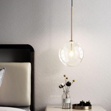 VIRGO V1602 | Đèn thả thủy tinh trong suốt cao cấp