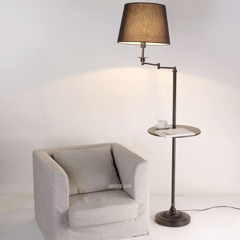 VIRGO V531 | Đèn để sàn đứng có kệ cao cấp