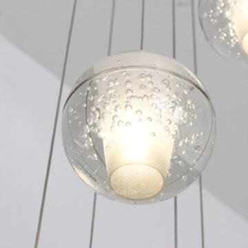 VIRGO V2084   Đèn thả trang trí giọt nước thông tầng cao cấp (5W)