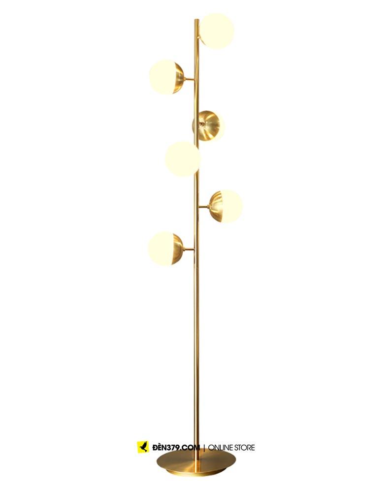 VIRGO V6765F | Đèn cây để sàn 6 bóng cao cấp