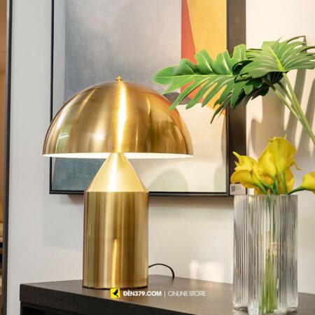 VIRGO V506G | Đèn để bàn cây nấm vàng Mushroom cao cấp | Đèn ngủ cao cấp