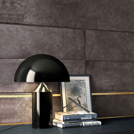 VIRGO V507B | Đèn để bàn cây nấm đen Mushroom cao cấp | Đèn ngủ cao cấp