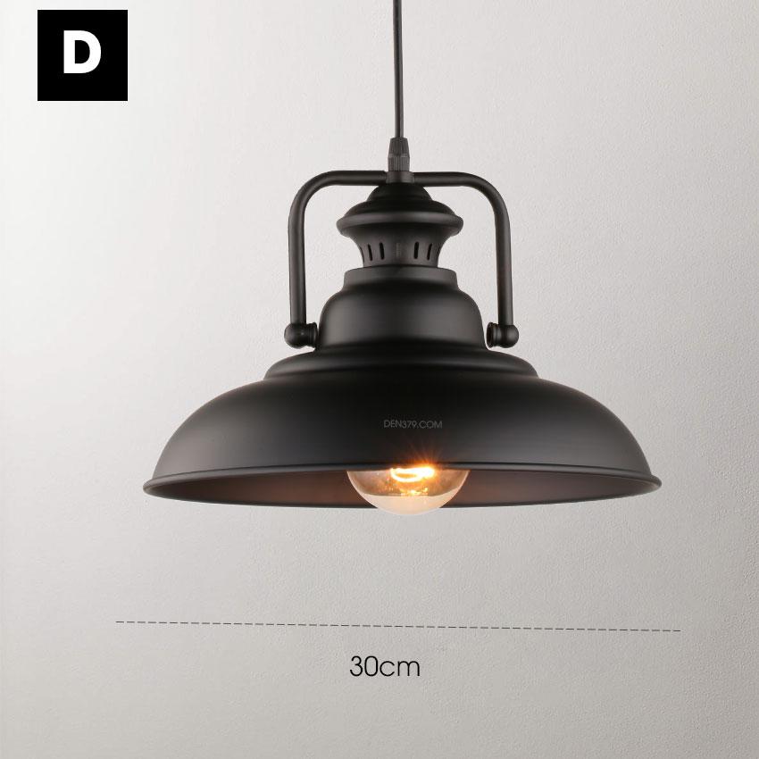Đèn thả trang trí công nghiệp Industrial style D3050