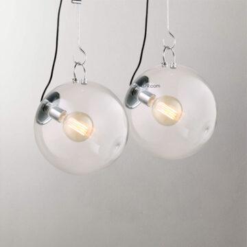 Đèn thả trang trí quả cầu thủy tinh trong D3089