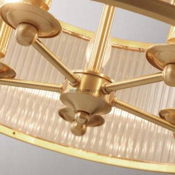 Đèn thả đồng cổ điển trang trí D3105
