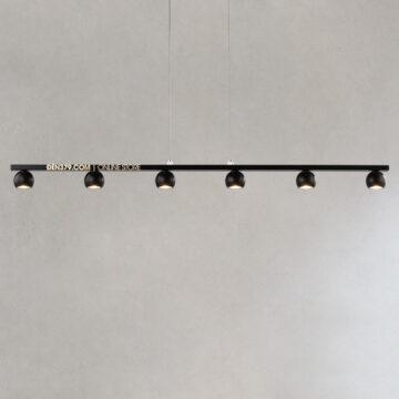 Đèn thả LED trang trí thanh ngang 1,1m S226