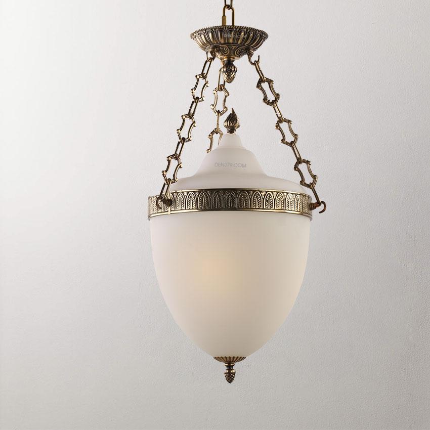 Đèn thả đồng cổ điển D2021
