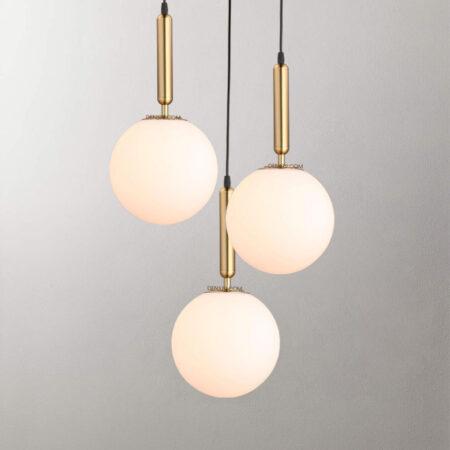 Đèn thả trang trí thủy tinh hiện đại D3062