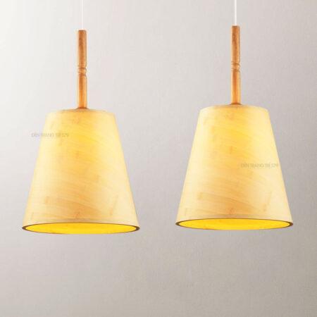 Đèn thả trang trí gỗ tự nhiên D3126