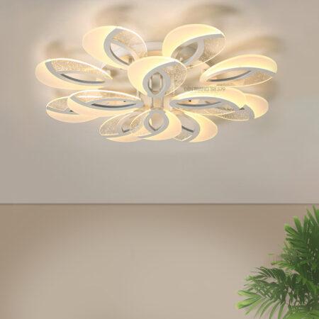 Đèn LED ốp trần 12 cánh bọt nước C261