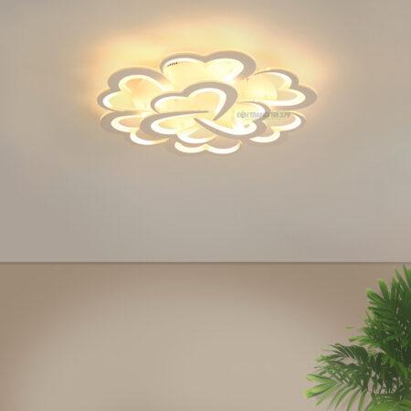 Đèn LED ốp trần trang trí 9 cánh trái tim C262
