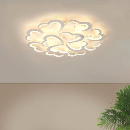 Đèn LED ốp trần trang trí 12 cánh trái tim C263
