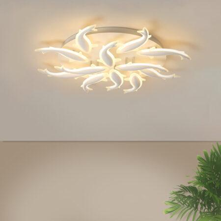 Đèn LED ốp trần đàn cá chép 3 chế độ sáng C260