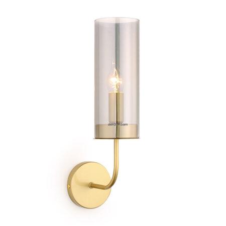 Đèn gắn tường trang trí ống thủy tinh khói Q261