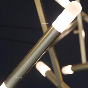 Đèn chùm trang trí ống trúc 10 nhánh D3152