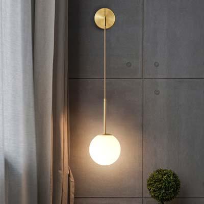 Đèn gắn tường trang trí quả cầu thủy tinh Q215