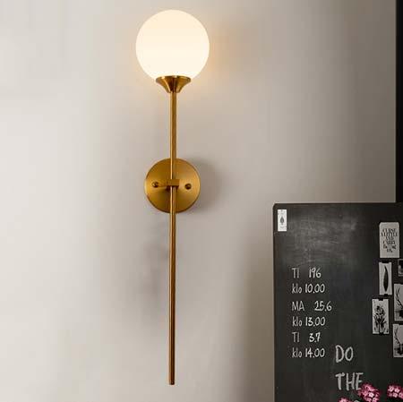 Đèn gắn tường trang trí quả cầu thủy tinh Q216