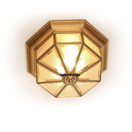 Đèn ốp trần đồng mái vòm, hành lang, ban công C268