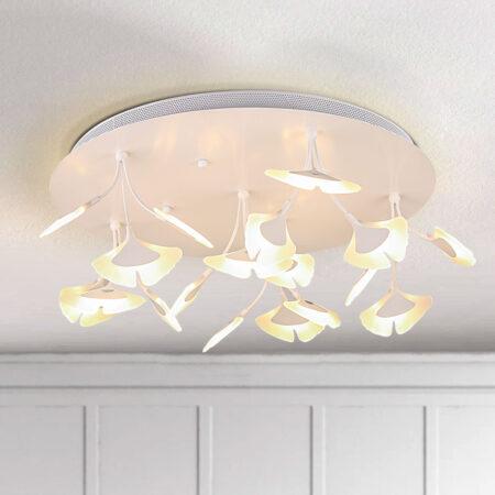 Đèn ốp trần LED lá ngân hạnh C5008/16