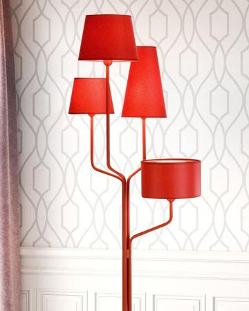 Đèn sàn trang trí FK51209/R (Màu đỏ)