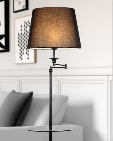 Đèn sàn trang trí kèm khay bàn trà FH531